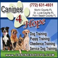 Canines 4 Hope – Florida Dog Training Canines 4 Hope Florida Dog Trainers